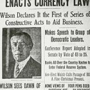 1913 December 23 Federal Reserve Act Signed into Law