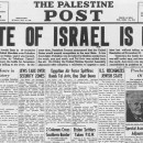 1948 May 15 – 1949 January Israel's War of Independence