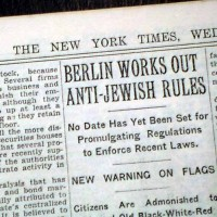 1935 September 15 Nuremberg Laws